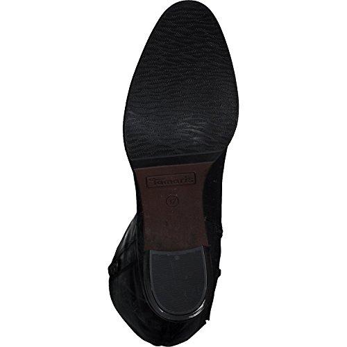 Tamaris Boots 21 Reißverschluss Frauen 25557 Damen Stiefel 4 Lederstiefel 5cm Blockabsatz n7rw7xqXa