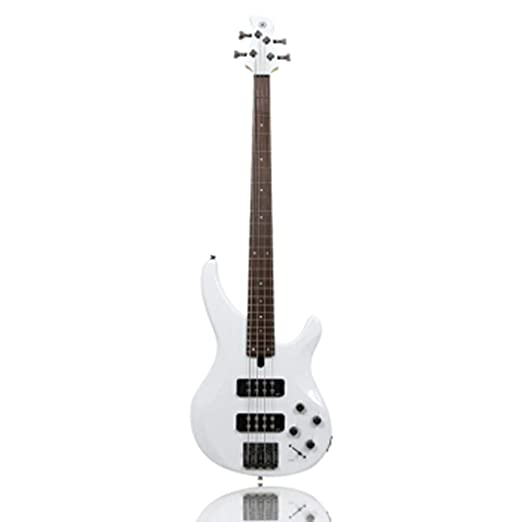 ZJJXD Bajo, Guitarra Eléctrica De 4 Cuerdas con Bolsa De Piano ...