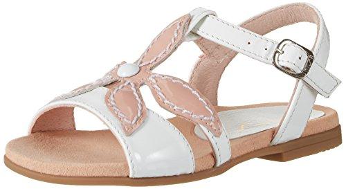 Unisa Mädchen Leani_PA Offene Sandalen mit Keilabsatz Weiß (LOTO/WHT)