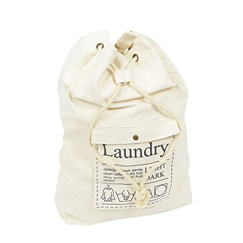 Canvas Laundry Bags With Strap - 2