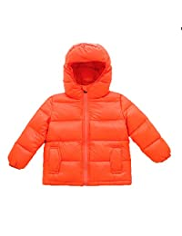 EkarLam® Children Kids Fashion Winter Thicken Outwear Down Shell Jacket Coat