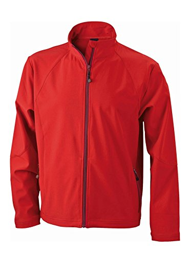 Men's Red In Uomo Jacket Giacca Softshell wCtPqtA
