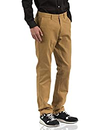 "<span class=""a-offscreen"">[Sponsored]</span>Men's Slim Fit Straight Leg Stretch Twill Flat Front Casual Chino Pants"