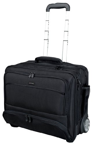 Lightpak Koffer Lightpak 46115 - Business Laptop Trolley Sky, aus Schwarzem Nylon 47 cm 40 liters Schwarz 10100193
