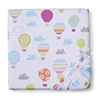 Circo Up We Go Balloon Fitted Crib Sheet