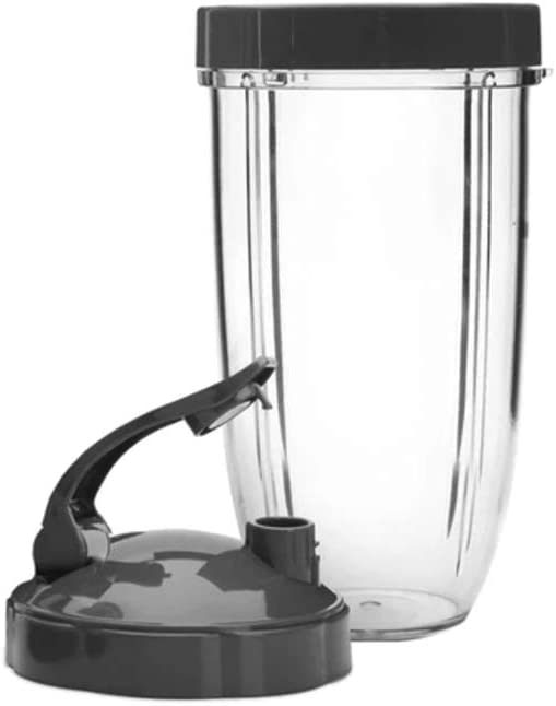NutriBullet NB9-0301DLX Pro Deluxe Upgrade, 32 Oz, Grey/Clear