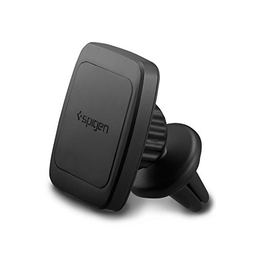Spigen Kuel Car Phone Mount Premium Magnetic Air Vent Phone Holder Magnetic Car Mount Compatible with iPhone X/XS/XS Max/XR / 8/8 Plus/Galaxy S9 / S9 Plus/Note 8 / Note 9 / S8 / S8 Plus