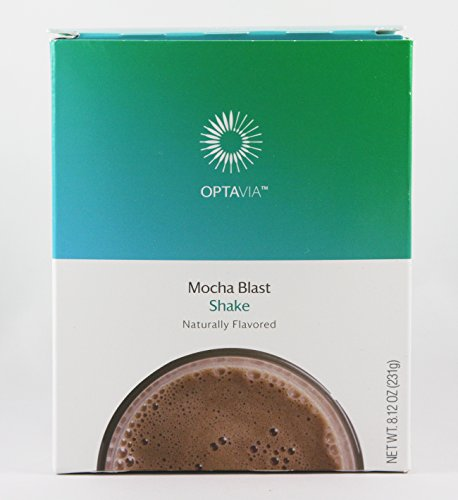 Optavia Mocha Blast Shake - 7 Servings