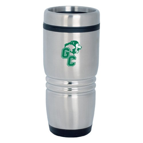 Greensboro Rolling Ridges Silver Stainless Tumbler 16oz 'Official Logo' by CollegeFanGear