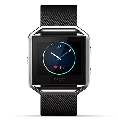 Fitbit Blaze Smart Fitness Watch Black Large (Renewed)