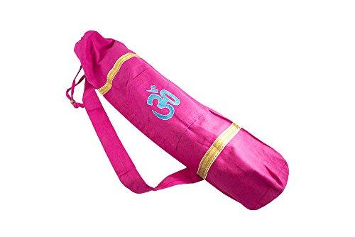OM Boho Yoga Mat Bag and Carrier for Women