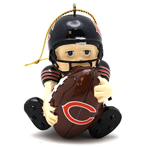 NFL Lil Fan Team Players Ornament - Chicago Bears - Chicago Bears Christmas Ornament