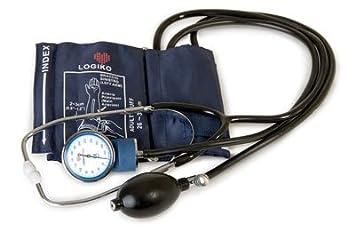 Tensiometro brazo manual con fonendoscopio: Amazon.es: Salud y cuidado personal