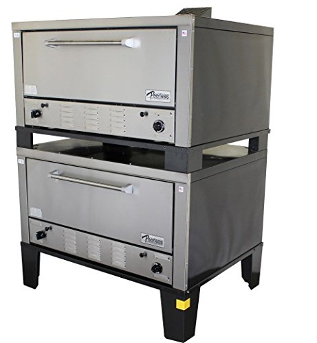 Peerless Ovens Model CW52B - Double Stack Gas Roasting Oven - Gas Fired - Natural Gas - DIRECT VENT by Peerless Ovens