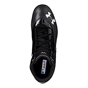 Under Armour UA Ignite Mid ST CC Baseball Cleats 11.5 Black