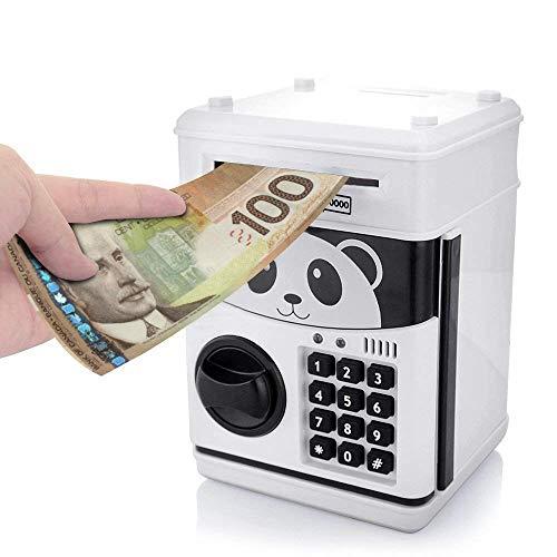Counting Bank - Jhua Cartoon Electronic Password Piggy Bank Cash Coin Can