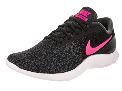 Wh 008 De Running WMNS Nike Flex Hyper Black Shoes Anthracite Black Contact Zapatillas Unisex Black Pink Fitness Adults' 908995 t4wIwnxqU7