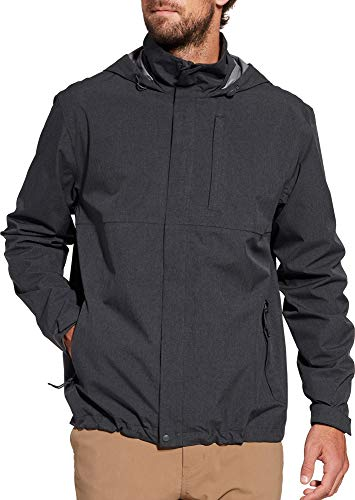 - Alpine Design Men's Altitude Rain Jacket (L, Anthracite)