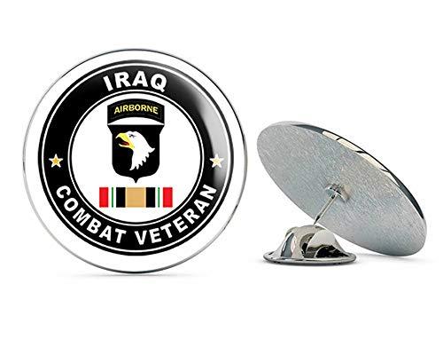 US Army 101st Airborne Iraq Combat Veteran Operation Iraqi Freedom OIF Metal 0.75
