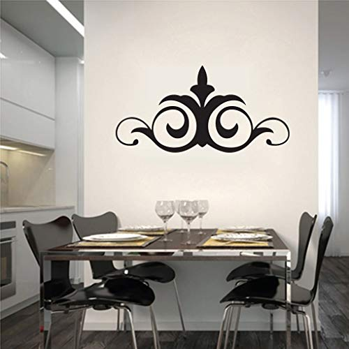 Generic Scroll Flowers and Shapes Wall Decals