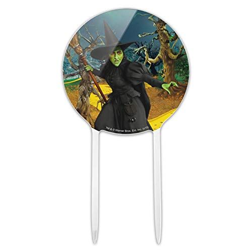 GRAPHICS & MORE Acrylic Wizard of Oz Wicked Witch Character Cake Topper Party Decoration for Wedding Anniversary Birthday Graduation