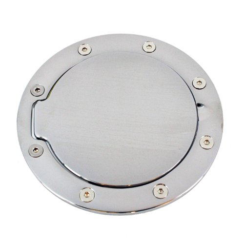 All Sales 6044P Polished Billet Aluminum Fuel Door