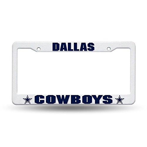 Rico Industries NFL Dallas Cowboys Plastic License Plate Frame