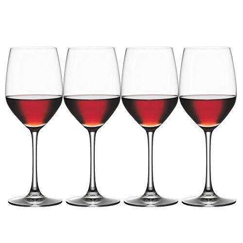 Spiegelau 4510271 Vino Grande Red Wine Glasses (Set of 4), Clear Vino Grande Red Wine