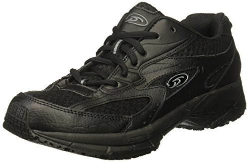 Dr. Scholl's Shoes Women's Gesture Food Service Shoe, Black, 8 W US by Dr. Scholl's Shoes (Image #1)