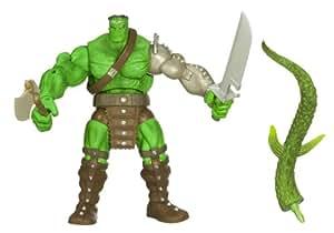 Amazon.com: INCREDIBLE HULK LEGENDS BUILD A FIGURE - KING HULK: Toys