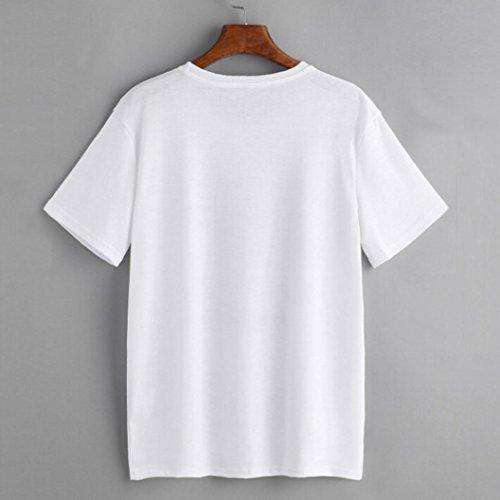 Ouneed® Femme Ete Uni Tshirt