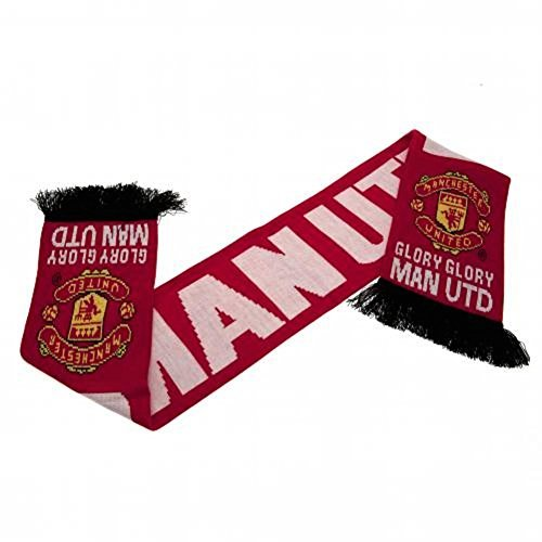 Manchester United Fc Authentic Epl  Glory Glory  Scarf