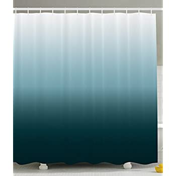 Ombre Shower Curtain Art Bathroom Decor By Ambesonne 70 Inches Long Home Decorations Polyester