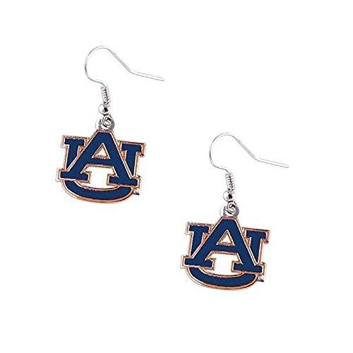 Purchadise NCAA Team Logo Dangle Earrings (Auburn Tigers) ()