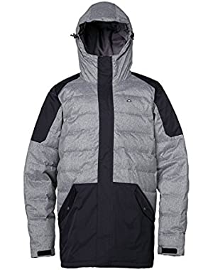 Rise And Shine Snowboard Jacket Anthracite Mens