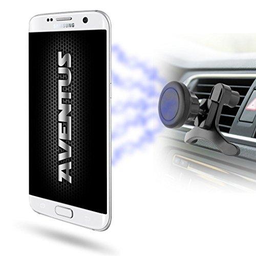 Aventus Apple iPhone Pro Supporto Magnetico Auto Universale 360 ° Smartphone Porta Telefono Magnetic Air Vent Mount