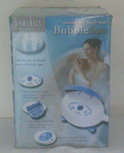 New Homedics Massaging Bath Mat Bubble Spa/ Model BMAT-4 by Bubble Spa by Bubble Spa
