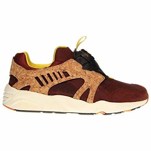 Puma Heren Lederen Disc Kooi Lux Sneaker Bruin