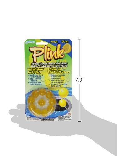 Compac Plink 10ct Lemon Garbage Disposal Cleaner & Deodorizer (Pack of 12)