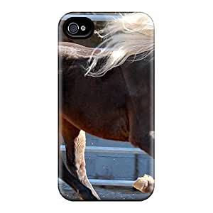 MtWilliams Case Cover Protector Specially Made For Iphone 4/4s Rocky Mountain Horse