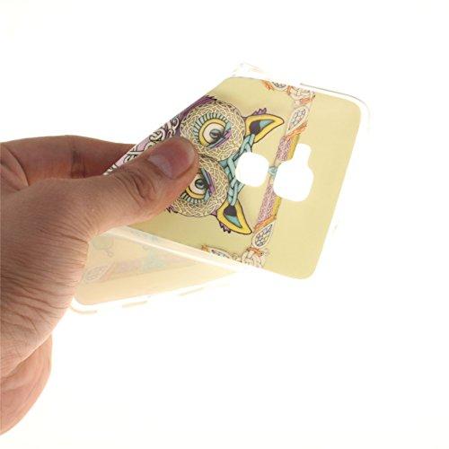 Fit Souple Hozor 5C Honor Arrière Huawei Résistant En De Silicone Transparent Protection Cas Bord 7 Owl Téléphone Motif lite Couverture TPU Peint Cas Honor Scratch Slim De Antichoc vvna6xW
