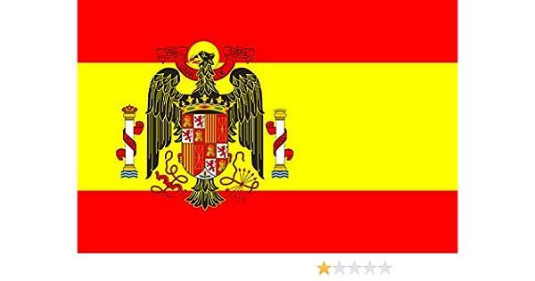 magFlags Bandera Large España Durante el franquismo | Bandera Paisaje | 1.35m² | 90x150cm: Amazon.es: Jardín