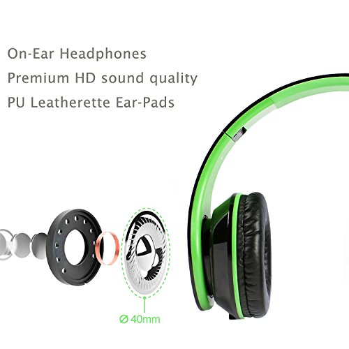 Headphones over ear for girls/kids/adult with Microphone