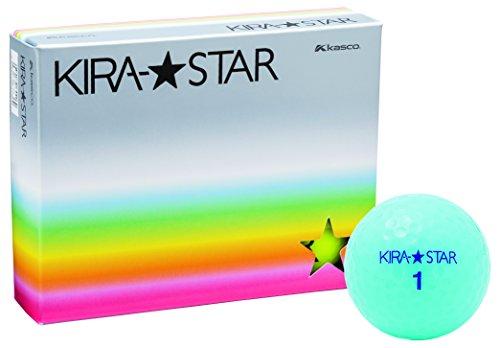 카스코(Kasco) 골프 공 KIRA STAR2 레드 1 다스 (12 개들이)