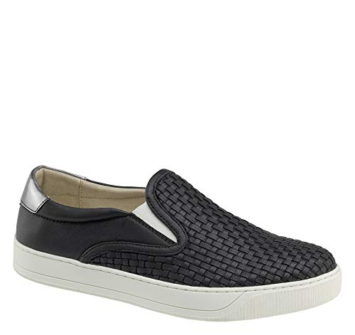 Johnston & Murphy Women's Elaina Black Slip-on, Black, 7 M from Johnston & Murphy