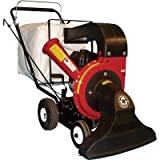 Merry Mac Walk-Behind Vacuum/Chipper/Bagger - 249cc Briggs & Stratton Powerbuilt Engine with Electric Start, Model# VCB1102EM
