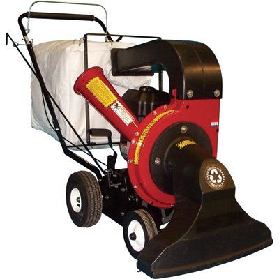 Merry Mac Walk-Behind Vacuum/Chipper/Bagger - 249cc Briggs & Stratton Powerbuilt Engine with Electric Start, Model# VCB1102EM by Merry Mac