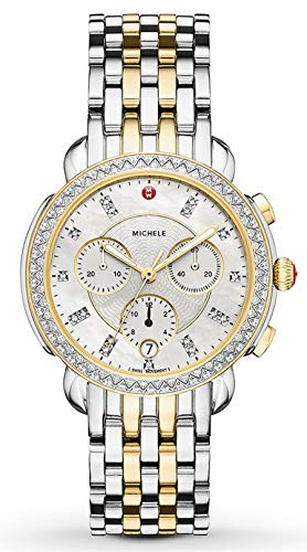 Michele Sidney One Hundred Seventeen Diamonds Chronograph Two Tone Women's Watch MWW30A000005
