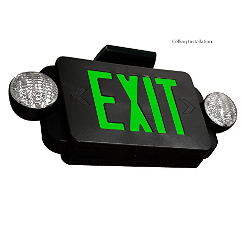 Led Wall Pack With Emergency: ETopLighting [2 Pack] LED Exit Sign, Emergency Light Green