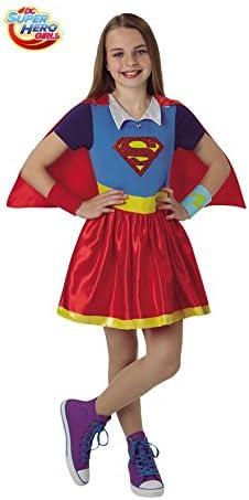 DC Comics Disfraz de Supergirl SHG Deluxe para niña: Amazon.es ...